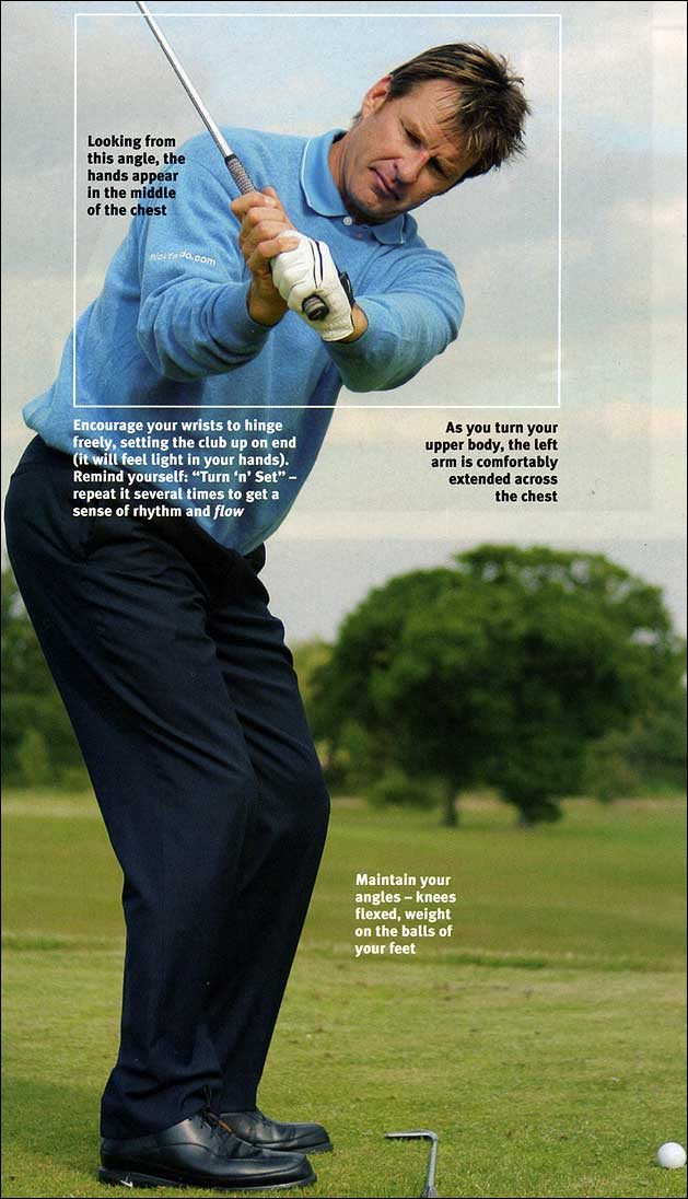 How to plug in a repeating swing - Nick Faldo